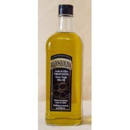 Botella Aceite De Oliva Vigen Extra Cristal 1 litro (Caja 12 unidades)