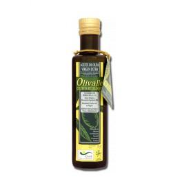 Aceite de Oliva Virgen Extra Ecológico botellas de cristal 250ml