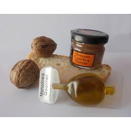 Mermelada Artesanal monodosis de Manzana, Canela y Nueces