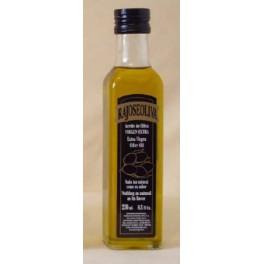 Botella Aceite De Oliva Vigen Extra Cristal 250 ml (Caja 24 unidades)