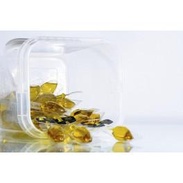 Cubo con 80 ánforas monodosis Aceite de Oliva Virgen Extra 14 ml