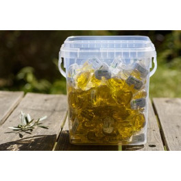 Cubo con 100 gotas de Aceite de Oliva Virgen Extra 12 ml